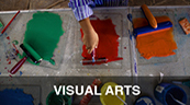 Visual Arts, image of paint and rollers