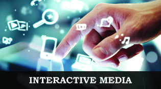 Interactive Media, image of an ipad